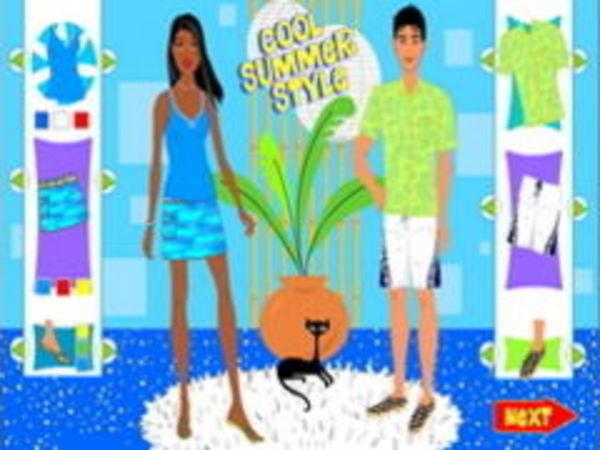 Bild zu Mädchen-Spiel Cool Summer Style