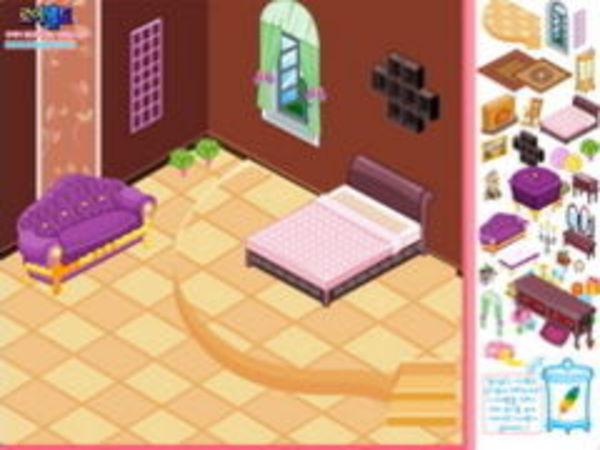 Bild zu Mädchen-Spiel Raumgestalter