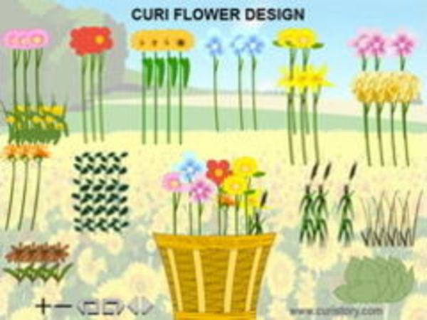 Bild zu Kinder-Spiel Flower Design