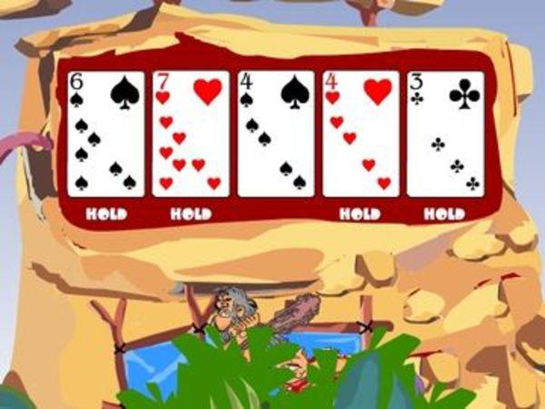 Bild zu Karten & Brett-Spiel Jurassic Videopoker
