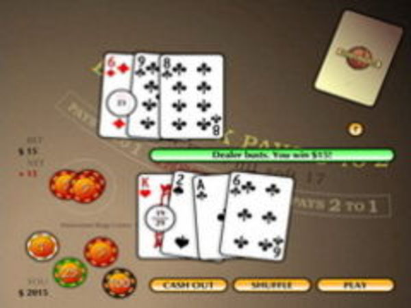 Bild zu Karten & Brett-Spiel Potawatomi Black Jack