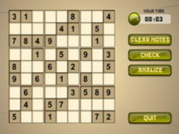 Bild zu Denken-Spiel Samurai Sudoku