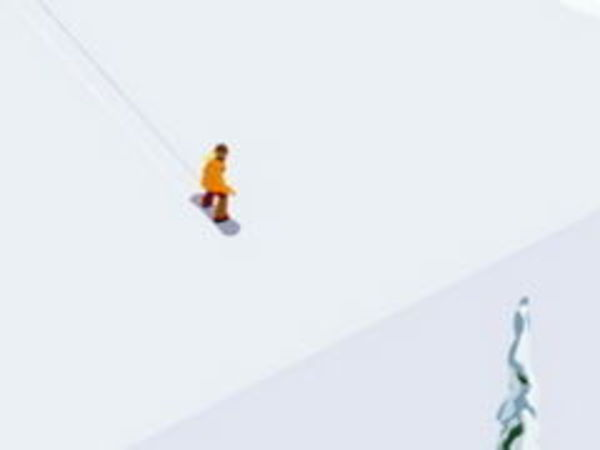 Bild zu Geschick-Spiel Snowboarding