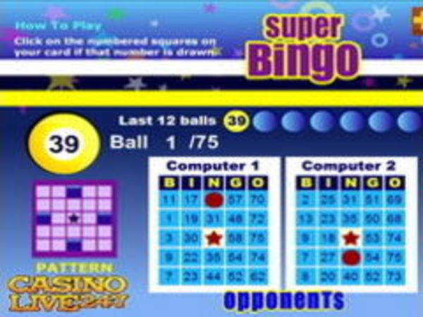 Bild zu Casino-Spiel Superbingo
