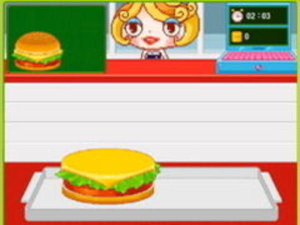Bild zu Mädchen-Spiel Hamburger Girl