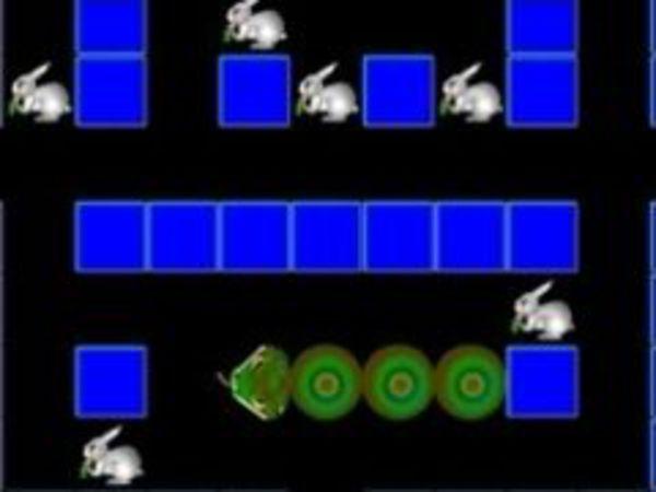 Bild zu Klassiker-Spiel Bunny Snake