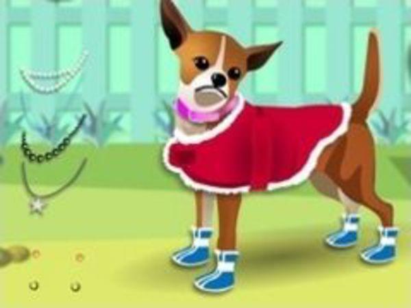 Bild zu Mädchen-Spiel Dress my Pet