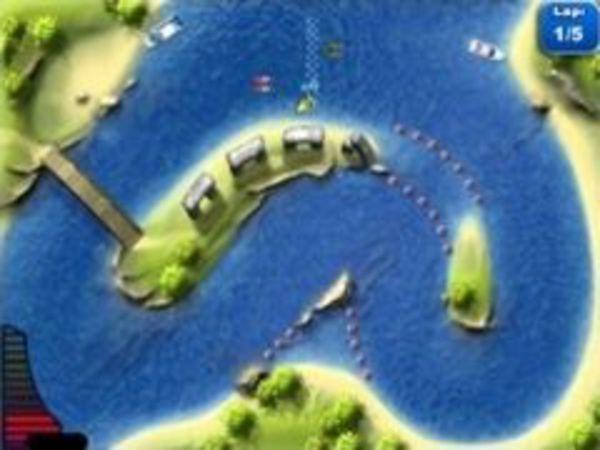 Bild zu Rennen-Spiel Jetboat Racing