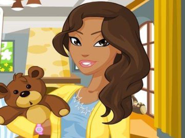 Bild zu Mädchen-Spiel Super Babysitter