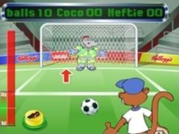 Bild zu Sport-Spiel Cokos Penalty Shootout