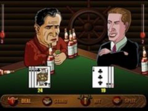 Bild zu Karten & Brett-Spiel Drinking Black Jack