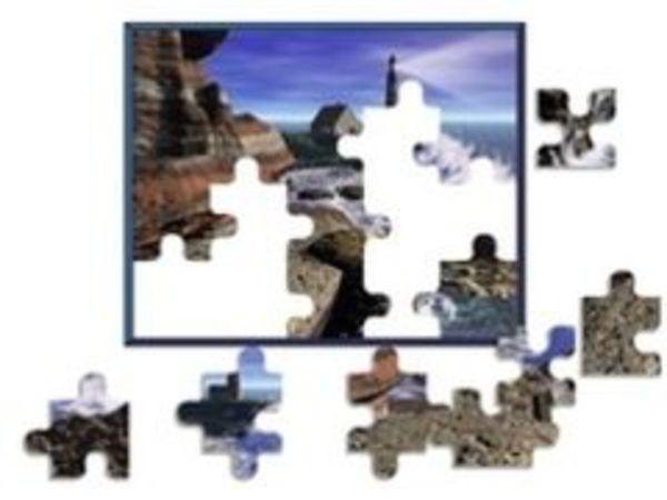 Bild zu Denken-Spiel Landschafts Puzzle