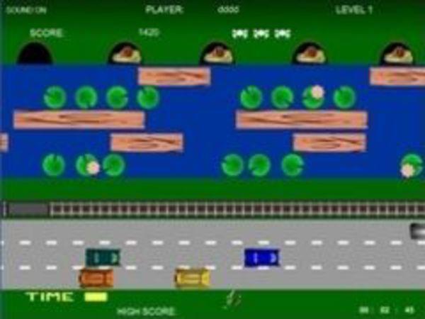 Bild zu Geschick-Spiel Frogger 2