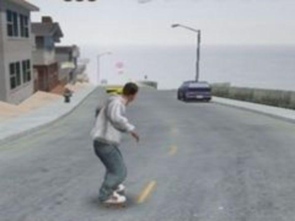 Bild zu Geschick-Spiel Downhill Jam