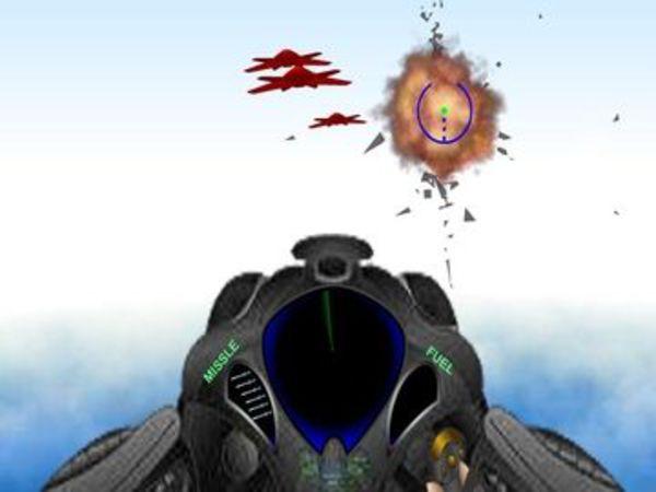 Bild zu Geschick-Spiel 3D Spacehawk