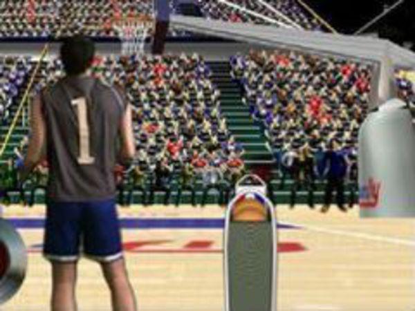 Bild zu Geschick-Spiel 3 Point Shootout