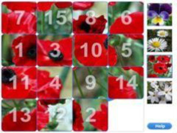 Bild zu Denken-Spiel Flower Slider