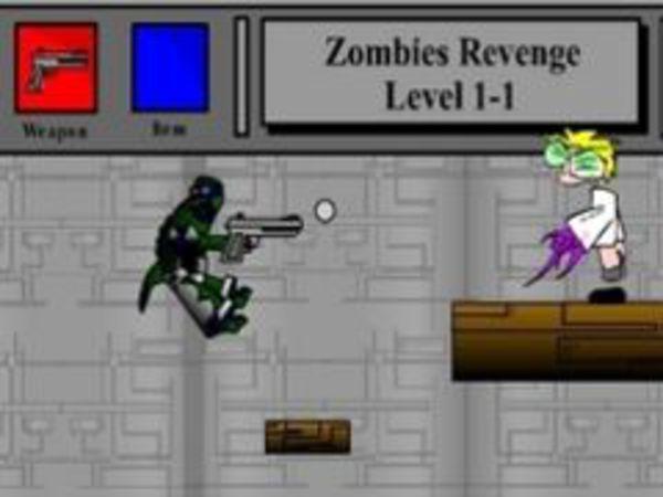 Bild zu Geschick-Spiel Die Rache des Zombies