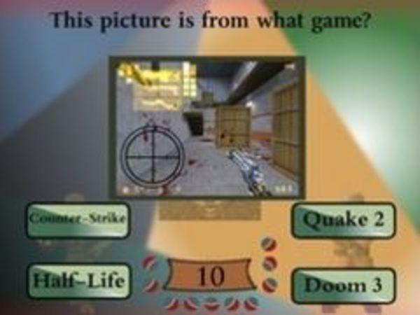 Bild zu Denken-Spiel Egoshooter Quiz