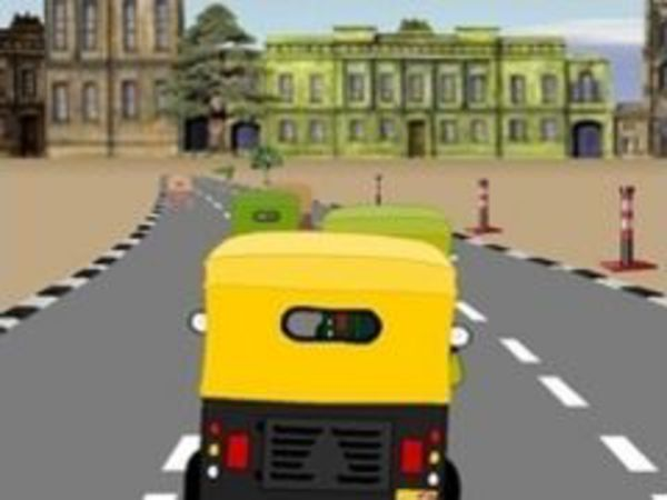 Bild zu Rennen-Spiel Desi Auto