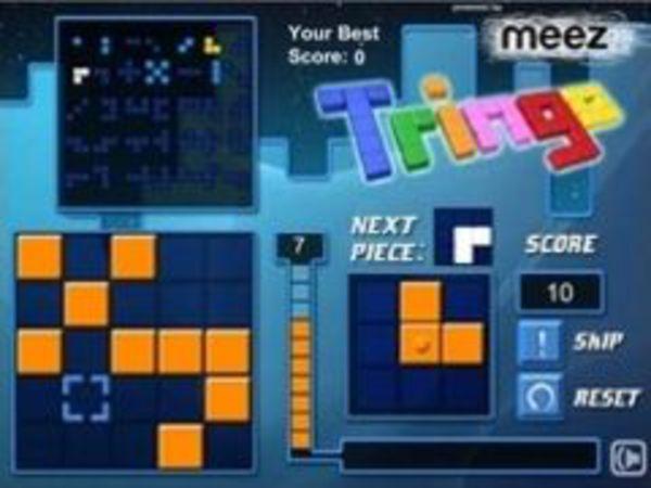Bild zu Denken-Spiel Tringo