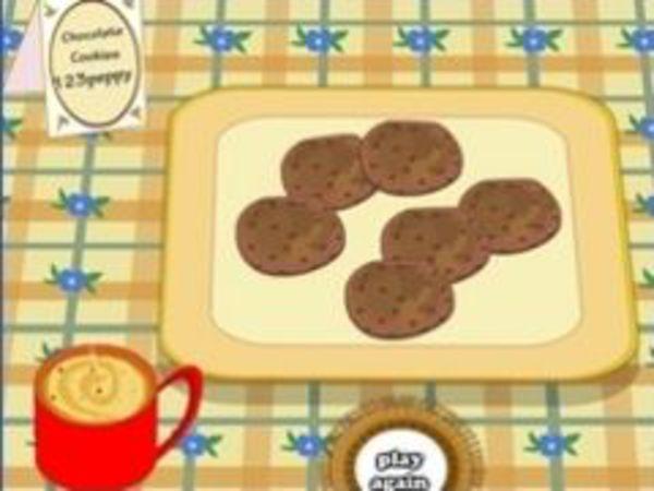 Bild zu Mädchen-Spiel Chocolatechip Cookies