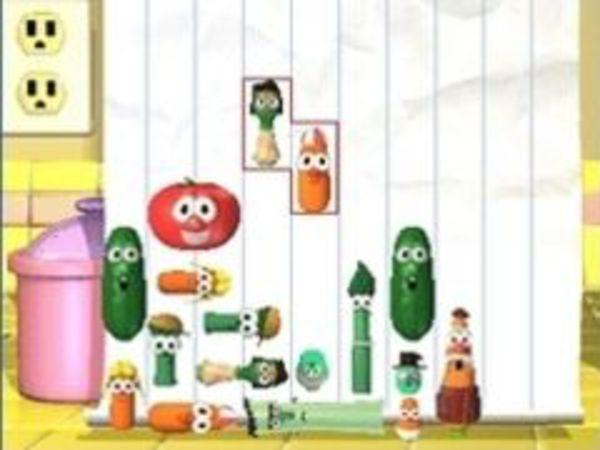 Bild zu Geschick-Spiel Veggie Pile Up