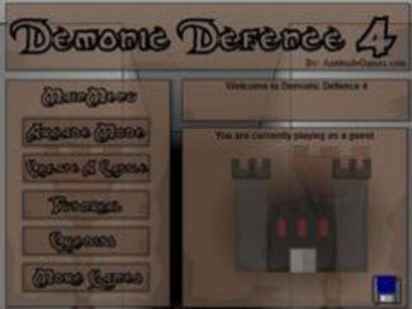 Bild zu Strategie-Spiel Demonic Defence 4