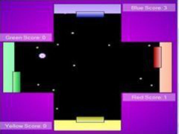 Bild zu Klassiker-Spiel Pong Foursome