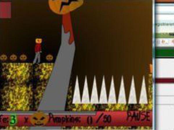 Bild zu Geschick-Spiel Pumpkin collector