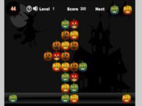 Bild zu Denken-Spiel Pumpkin Solitaire