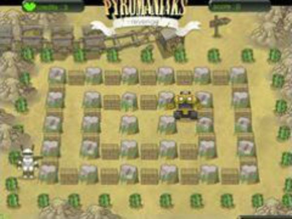Bild zu Klassiker-Spiel Pyromaniaks