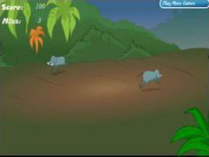 Wild boar hunter game