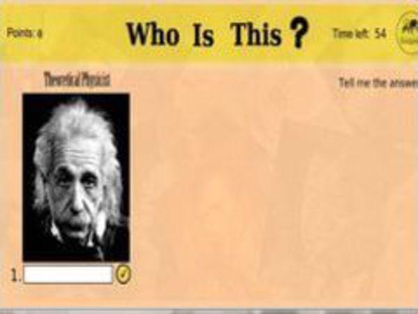 Bild zu Denken-Spiel Who is this