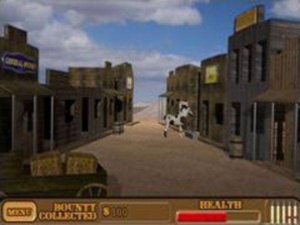 Bild zu Action-Spiel Western Shoot