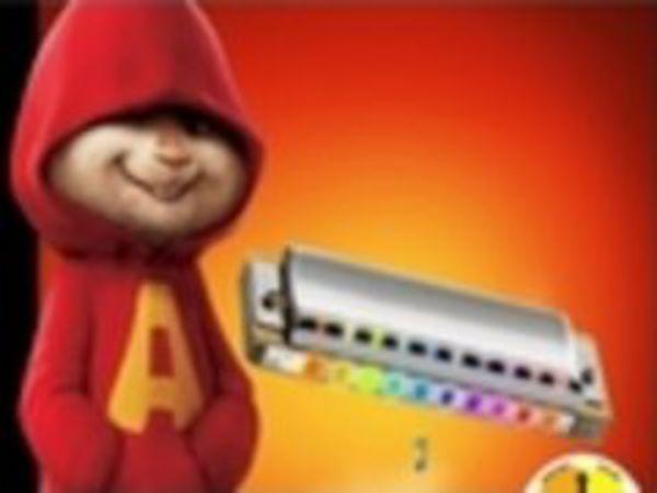 Bild zu Geschick-Spiel Alvins Harmonica
