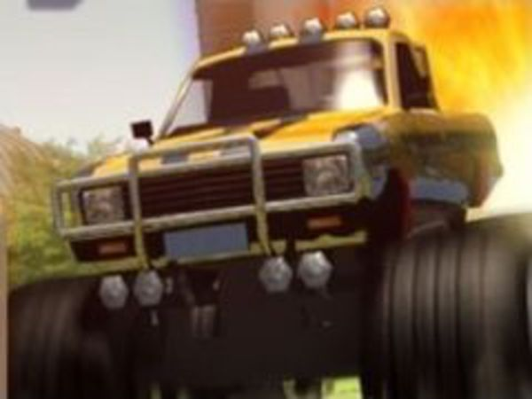 Bild zu Geschick-Spiel Monstertruck Rampage