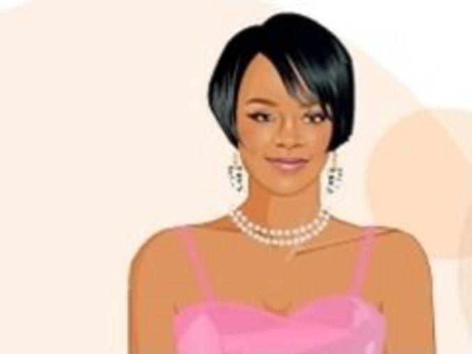 Rihanna Dressup