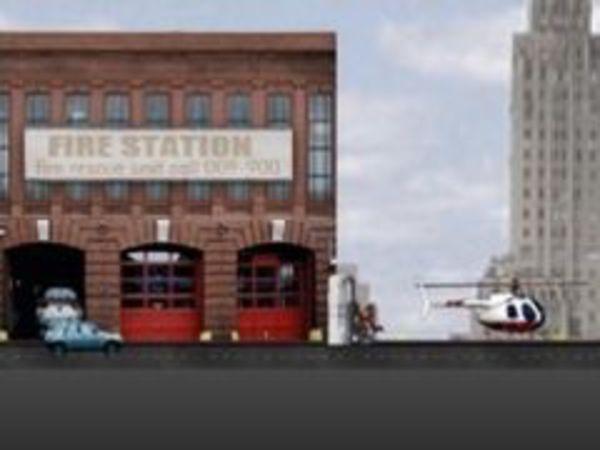 Bild zu Geschick-Spiel Helicopter Sim Rescue