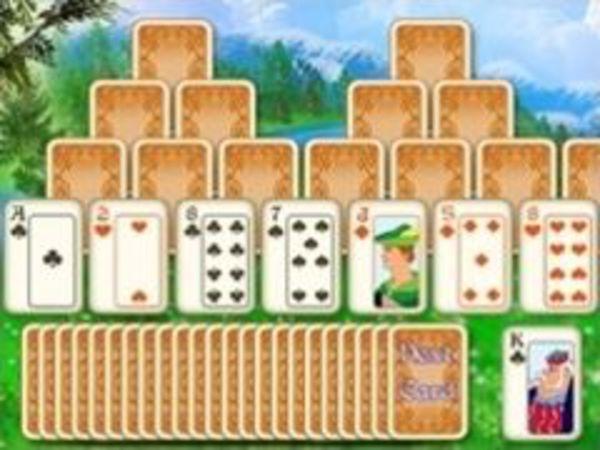 Bild zu Denken-Spiel Tri-Towers Solitaire