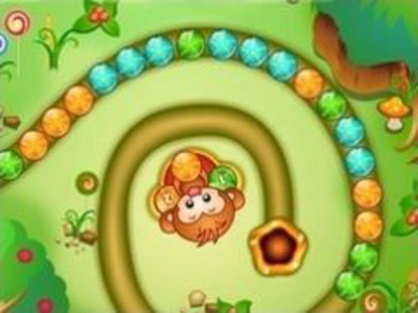 Bild zu Geschick-Spiel Bonbon Folis
