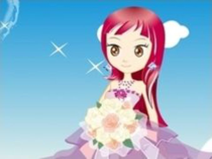 Cute Bride Dressup