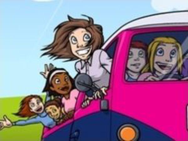Bild zu Mädchen-Spiel Heels n Wheels