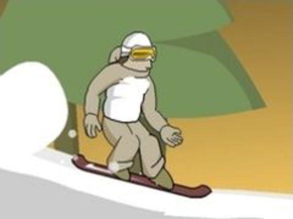 Bild zu Top-Spiel Snowboard Downhill 3