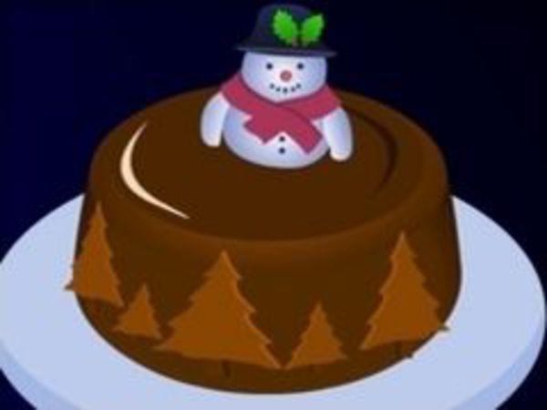 Bild zu Mädchen-Spiel Christmas Cake
