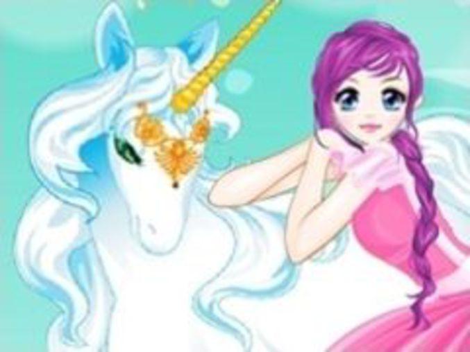 Unicorn Girl Dressup