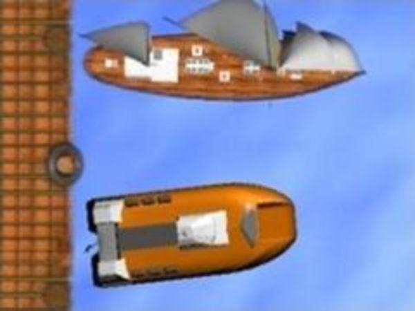 Bild zu Geschick-Spiel Dock the Boat