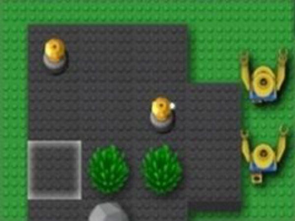 Bild zu Action-Spiel Minifig Towerdefense