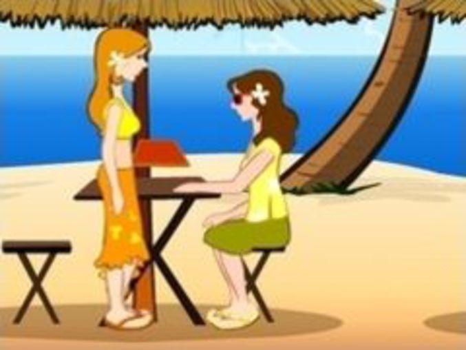 beach spielen