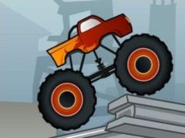 Bild zu Geschick-Spiel Crazy Truck